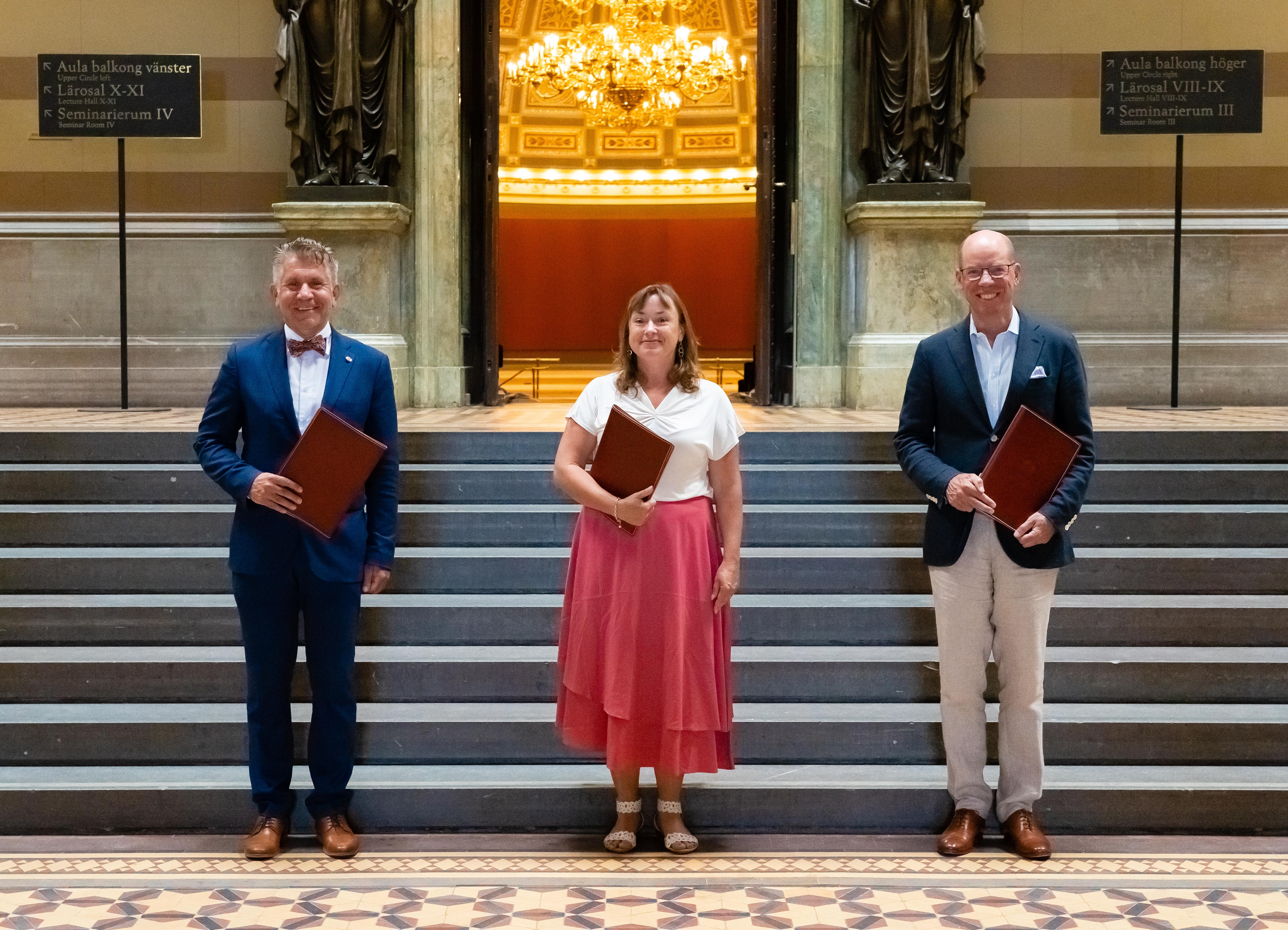 Nya Vicerektorer Pa Plats Nyhet Uppsala Universitet